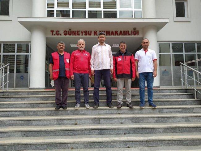 KIZILAY GENEL BAŞKANI DR. KEREM KINIK'DAN ZİYARET